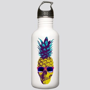 Pineapple Skull Water Bottle